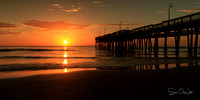 VA Beach Pier Sunrise 10x20
