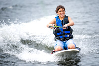 Jason Kneeboarding
